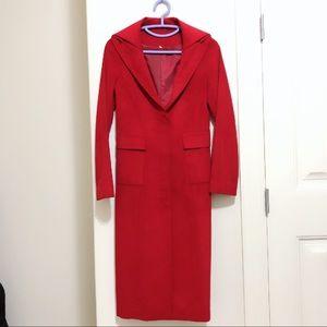 Jackets & Blazers - Long Red Coat